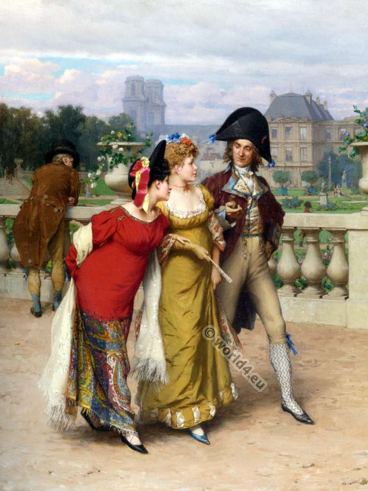 Fashion under the French Revolution 1789 to 1802 ...