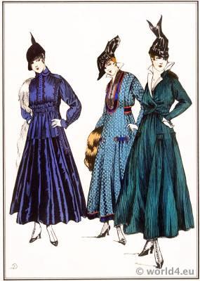 Lanvin, Dœuillet, Chéruit, style, parisien, Art deco, fashion