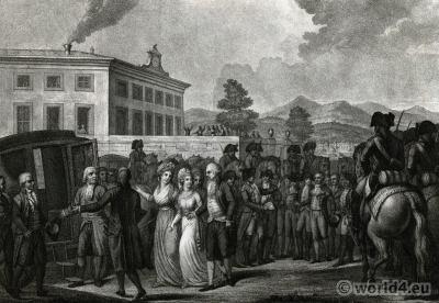 Marie Thérèse Charlotte of France. prisoners exchange. Princess Royal. French Revolution History.