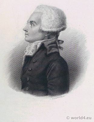 Maximilien Robespierre, French, lawyer, politician, Portrait, French, Revolution, History