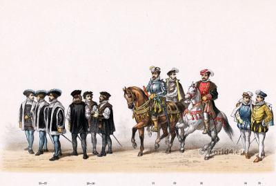 Reinier van Wijhe. Emperor Charles V. Renaissance fashion period. 16th century military uniforms.