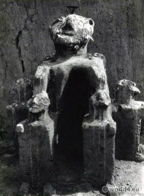 African Clay fetish Ghana.
