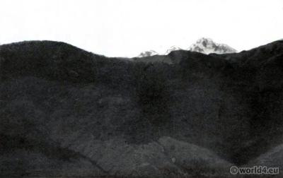 Mount Everest. Darjeeling India. View on Himalaya. J. Burlington Smith. Tiger hill