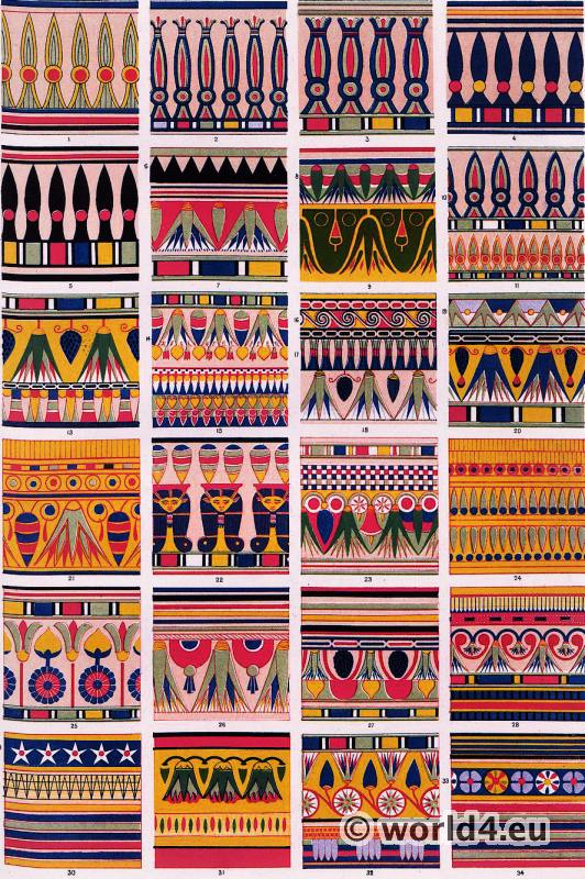 Ancient egyptian costumes for Ancient egyptian decoration