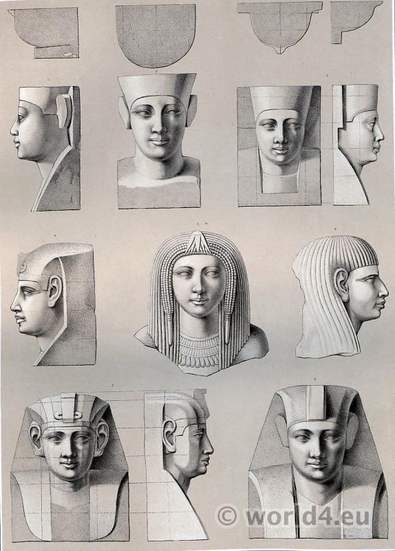 Egyptian fashion history