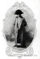 American actress Maude Adams. Peter Pan costume. Broadway show.
