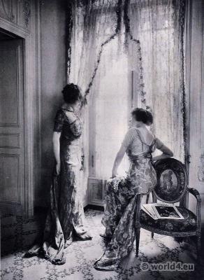 Models at Callot Soeurs Fashion House Paris. French Haute Couture