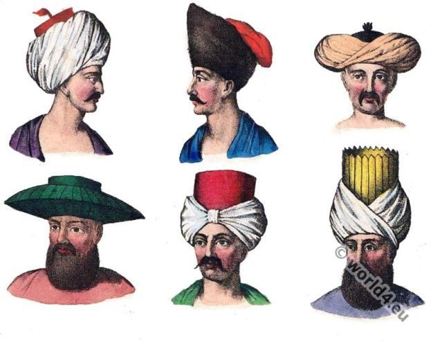 Traditional Egypt headdresses.