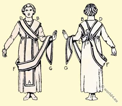 Byzantine Costume History. The toga picta. the LORUM