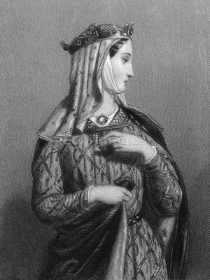 Eleanor of Aquitaine, Medieval Queen, Middle ages, fashion history, Gothic clothes, 12th century fashion