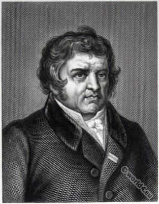 Guillaume Louis Ternaux. First empire portrait. Manufacturer, marketer and French politician.