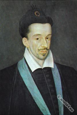 Henry III. French Costume History. Renaissance fashion