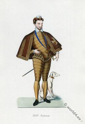 Henri de Valois. Henryk Walezy King of Poland-Lithuania. Henri III. Renaissance fashion