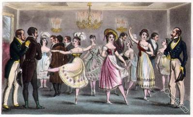 Dandy Clubs. Dandysme. Romantic era fashion. Satirical 19th century.