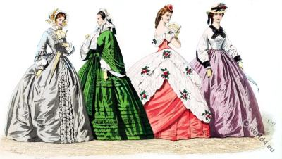 Fashion and Costumes of the The Second Republic.