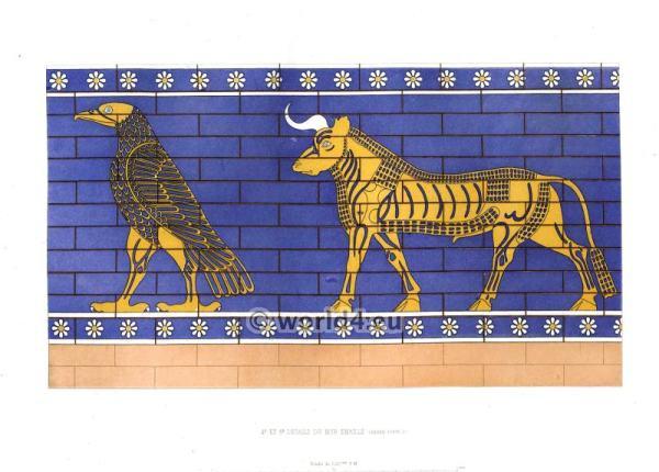 Assyrian, Harem, Nineveh, History, Mesopotamia, Bull,
