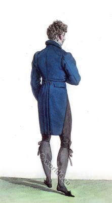 Fitted dress. Regency era costumes. Romantic fashion. Biedermeier Mode