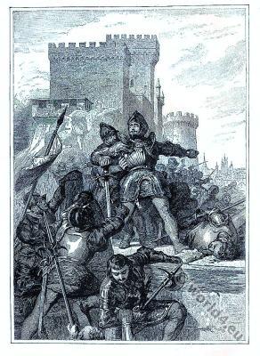 Pierre du Terrail. knight Chevalier Bayard.