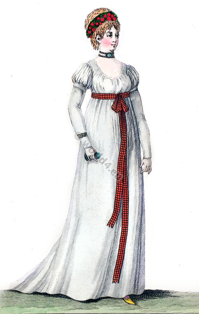 First Empire Style Archive Costume History