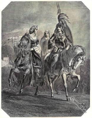 Conquest of Grenada. Washington Irving. Moorish Boabdil. Emir of Granada.