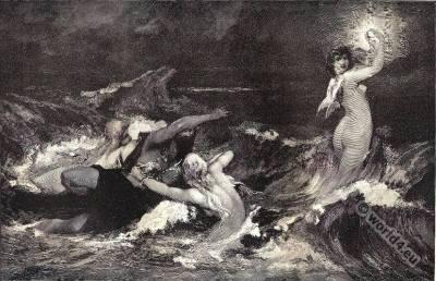 Rheingold. Richard Wagner. Opera. The Ring