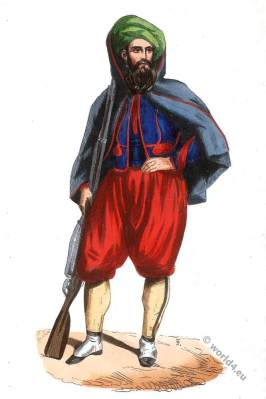 Zouave Algeria, light-infantry corps