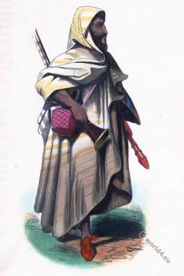bedouin merchant. Africa, Arabia. Arab Bedouin. Traditional arabia clothing.