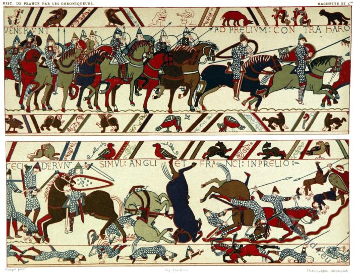 Bayeux Tapestry. Battle, Hastings