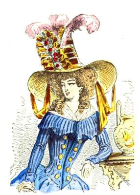 Chapeau, tartare, Headdress, Rococo,Fashion history,