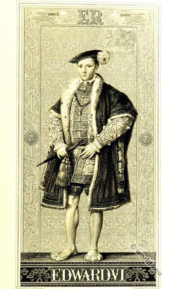Edward VI, King, Tudor, Renaissance, England, 16th century