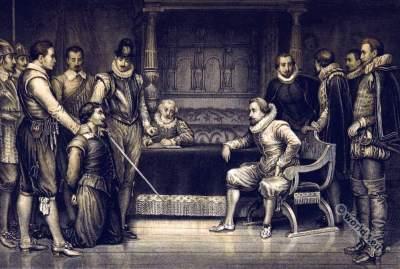 The Gunpowder Plot. English history.