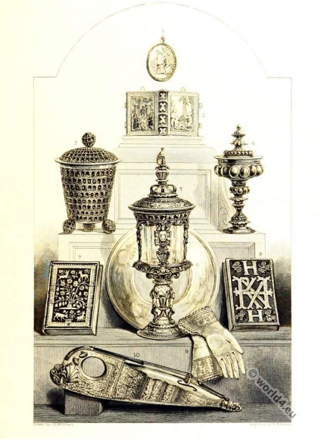 Queen Elisabeth Tudor relics.