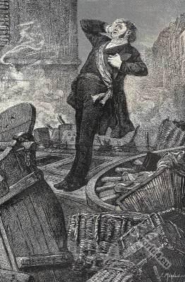History of a Crime. Victor Hugo. The Death of Baudin. France literature classic. Romantic era.