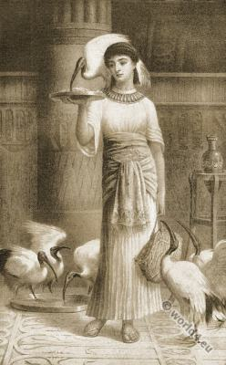 Alethe. Priestess of Isis. Ancient egypt priestess costume. The Epicurean. Thomas Moore.