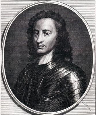 John Hampden. English politician 17th century.