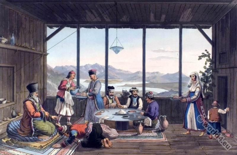bishop, Salona, Crisso, Greece, Ottoman empire, costumes