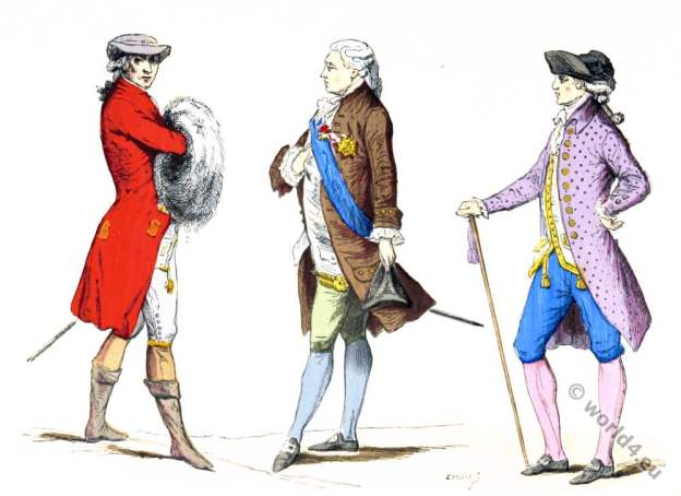 Paris 18th century nobility fashion.