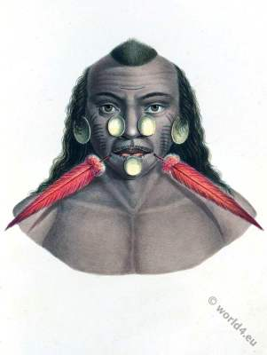 Maxuruna,  facial piercings, Jaguar people, Brazil, Matis indians, Maxuruna, indigenous tribesman,