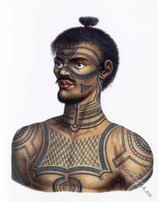 Tattoo, Nuku Hiva, Marquesas Islands