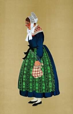 Schleithal,Schleithalois,Canton de Wissembourg,Alsace,Paysanne,Peasant,Traditional, Traditionnel,Costumes,france,Département Bas-Rhin,
