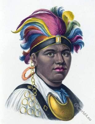 Tayadaneega,Mohawk , Indian, Anthropology, ethnology, Native, Inhabitants, Heinrich Rudolf Schinz, Brodtmann, natives,