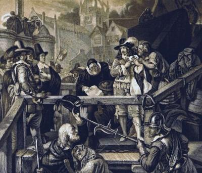 Marquis of Montrose. 17th century. English Civil War. Baroque costume.