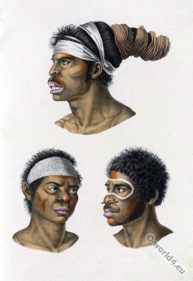 New Holland, Australia, aborigine, Anthropology, ethnology, Native,