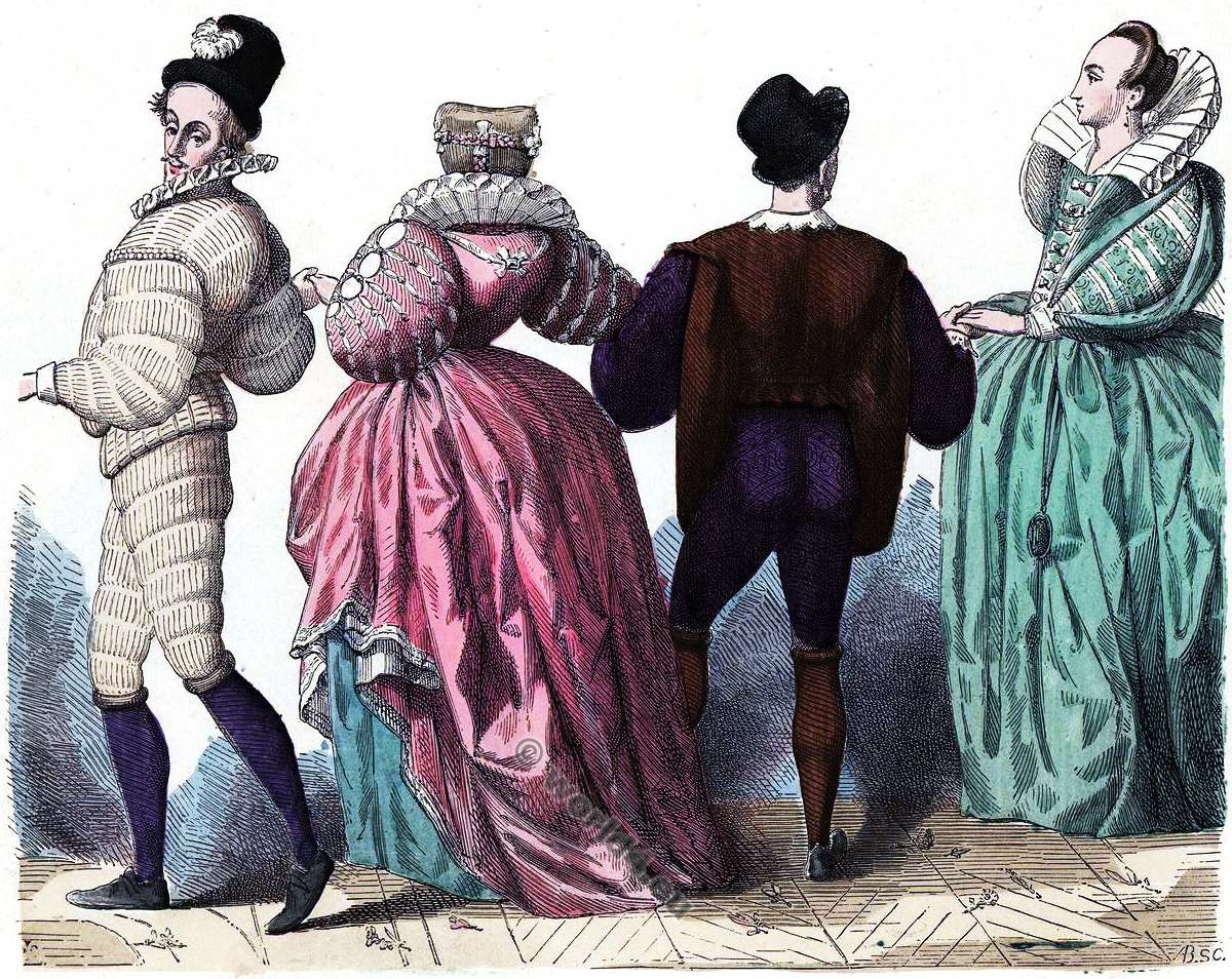 reigns of henri iv and louis xiii costume history