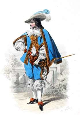 Mousquetaire, Baroque, Nobility, French, costume, fashion history, historical, dress, 17th century, Louis XIII