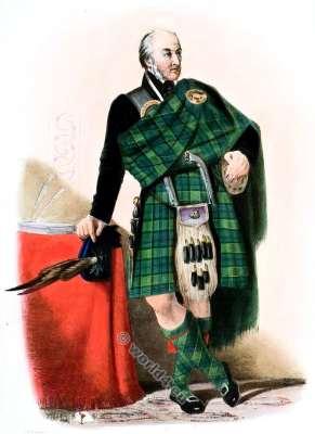 Campbell of Breadalbane. Clan. Tartan. Scotland. Clans of the Scottish Highlands.