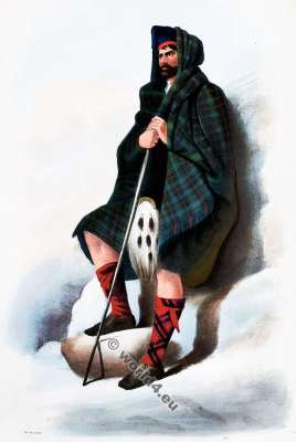 Clann Dhaibhidh. The Davidsons. Clan. Tartan. Scotland national costume. Clans of the Scottish Highlands.