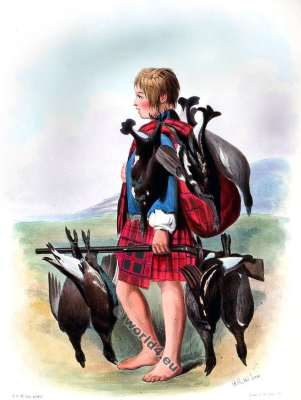 Na Granntaich. The Grants. Clan. Tartan. Scotland national costume. Clans of the Scottish Highlands.