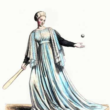 Jeu, paume, Mediaeval, ball, game, 13th century, costume, Burgundy, Gothic, Middle ages, costume, history