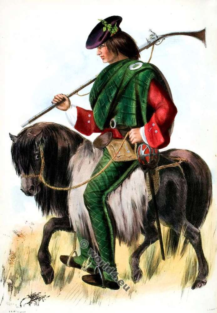Clann Nial - The Mac Niels. Clan. Tartan. Scotland national costume. Clans of the Scottish Highlands.